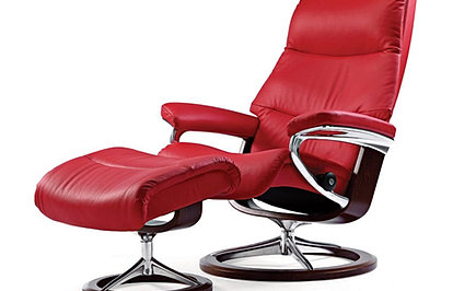 Best Price On The Stressless View Medium Size Recliner By Ekornes