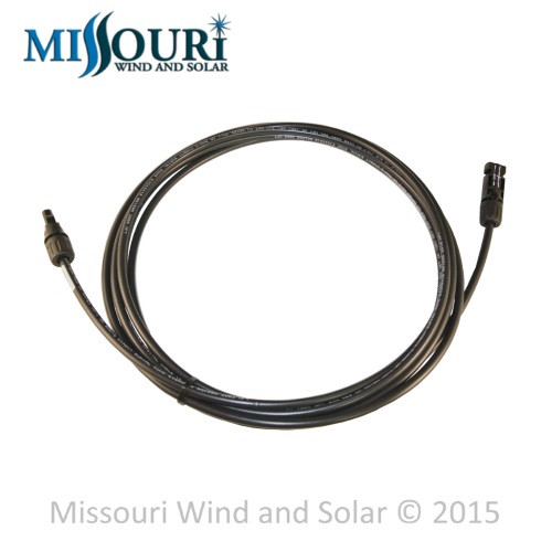 ennis wind and solar dc and ac meters solar pv extension cable 10 awg mc4 connectors 100 feet