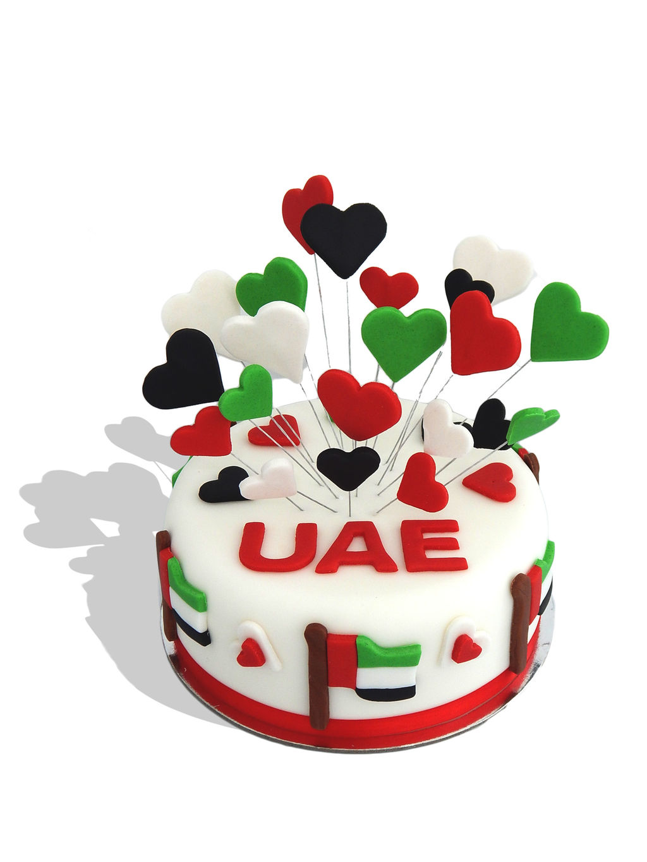 Uae Flag Cake Design : The design and supply of celebration cakes in Dubai