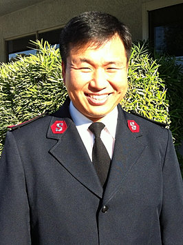 The Salvation Army Korean Corps Capt Lee