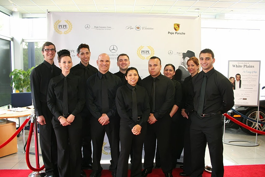 Toth event staffing westchester fairfield and nyc for Mercedes benz of fairfield ct staff