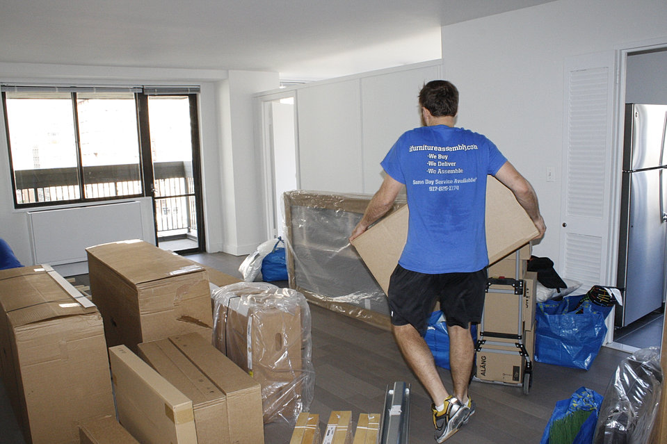 Ikea furniture delivery and assembly service in nyc for Does ikea deliver same day