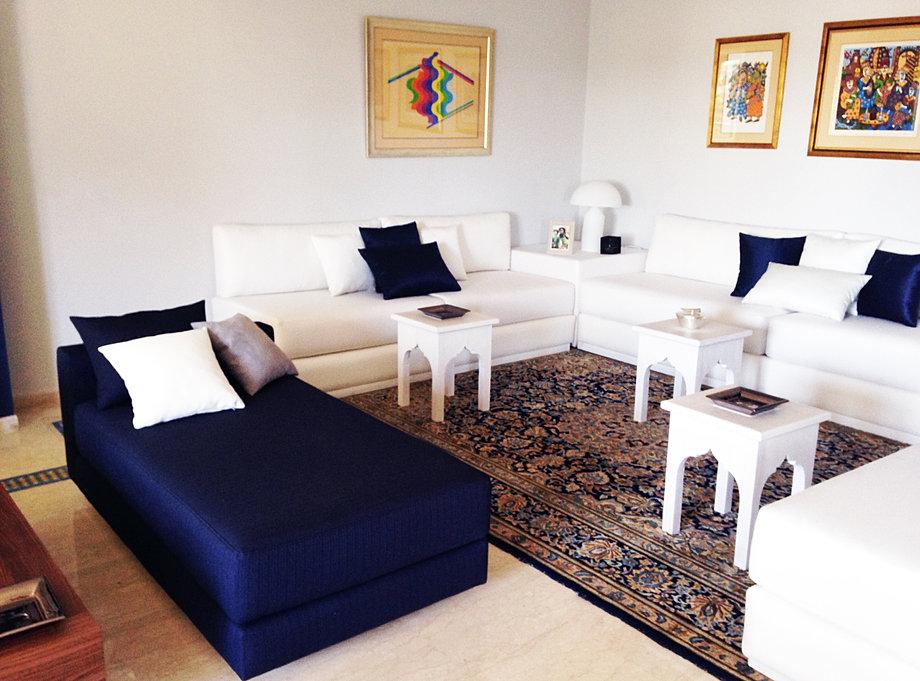 salon marocain salon marocain salon marocain contemporain chemine traditionnelle - Cheminee Contemporain Villa Marocaine