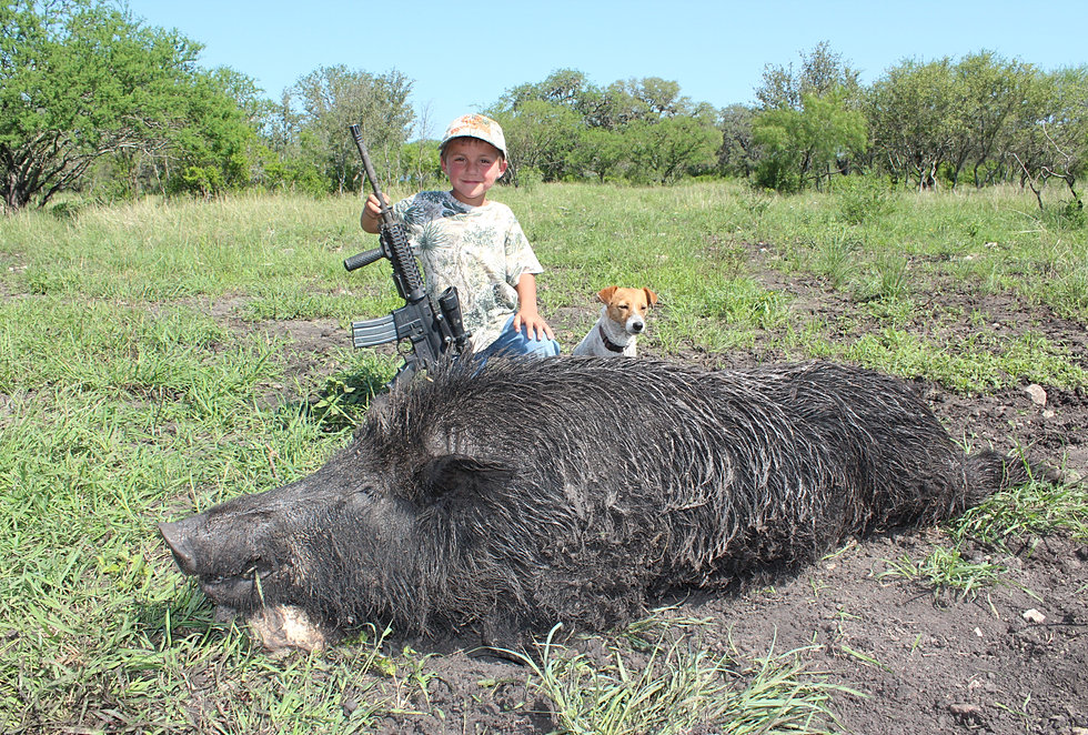 Turkey hogs javelina trophy fees recordbuck ranch for Texas fishing license cost