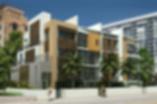 RLC Architects, residential, apartment, buildig, modern, florida, south, townhouse, duplex, triplex