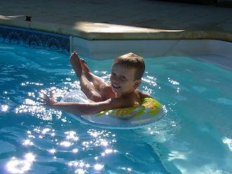 Zwembad plezier Huis aan de Lot