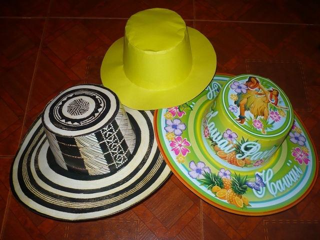 Productos fiesta hora loca fiestas hawaiana fiestas - Decoracion de sombreros ...