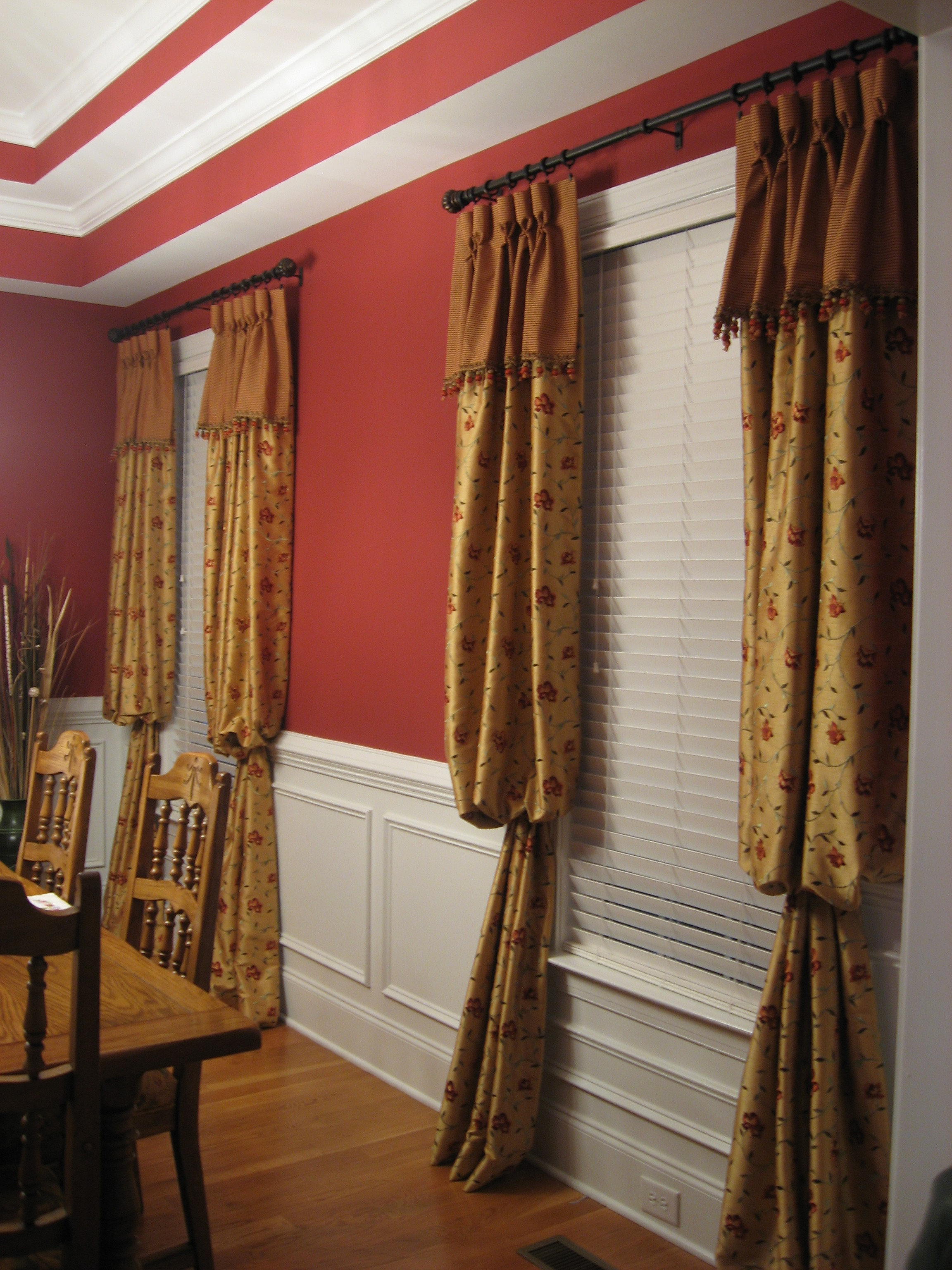 Window Elevations of Wake Forest | Interior Design & Window Treatments ...