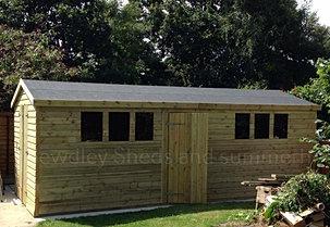 Bewdley sheds sheds for 16x10 garage door price