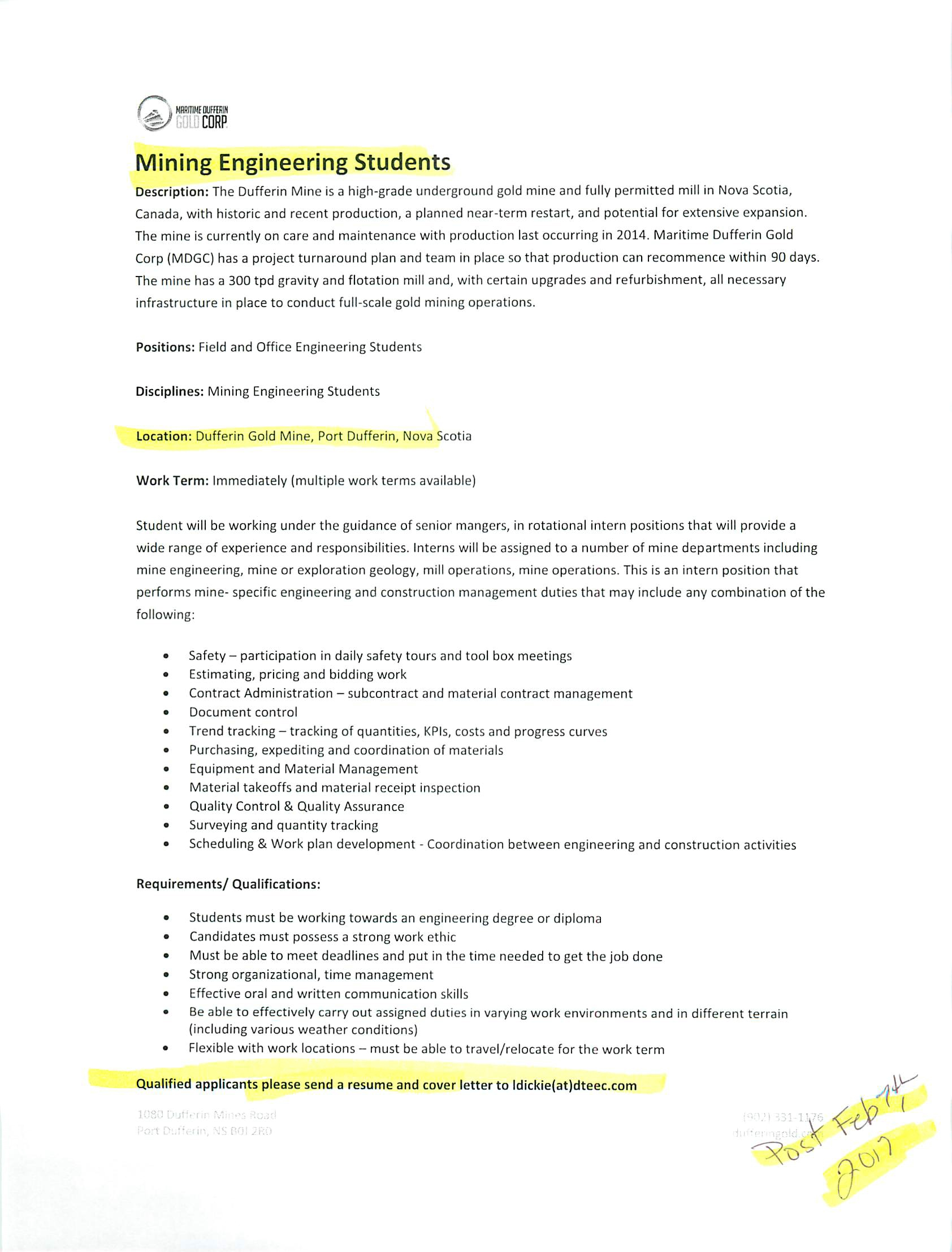 Sample Cover Letter For Film Internship] internship cover letter ...