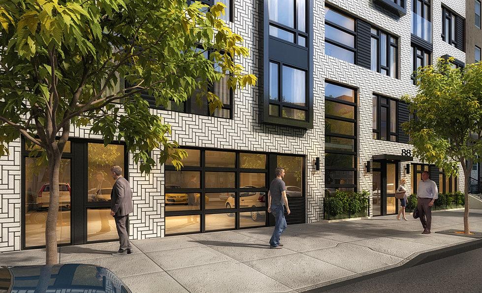 88 Jefferson Street, Hoboken. Under Construction. MINERVINI VANDERMARK  ARCHITECTURE