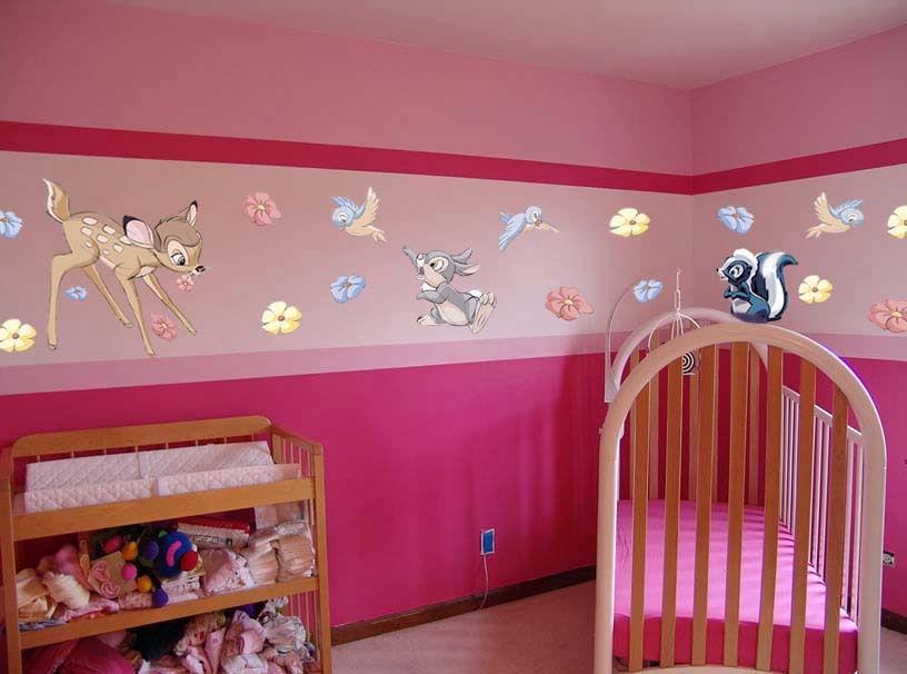 dormitorio de bambi para bebes