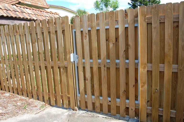 Steel Framed Fences : Fence for sale clearwater tampa st pete palm harbor