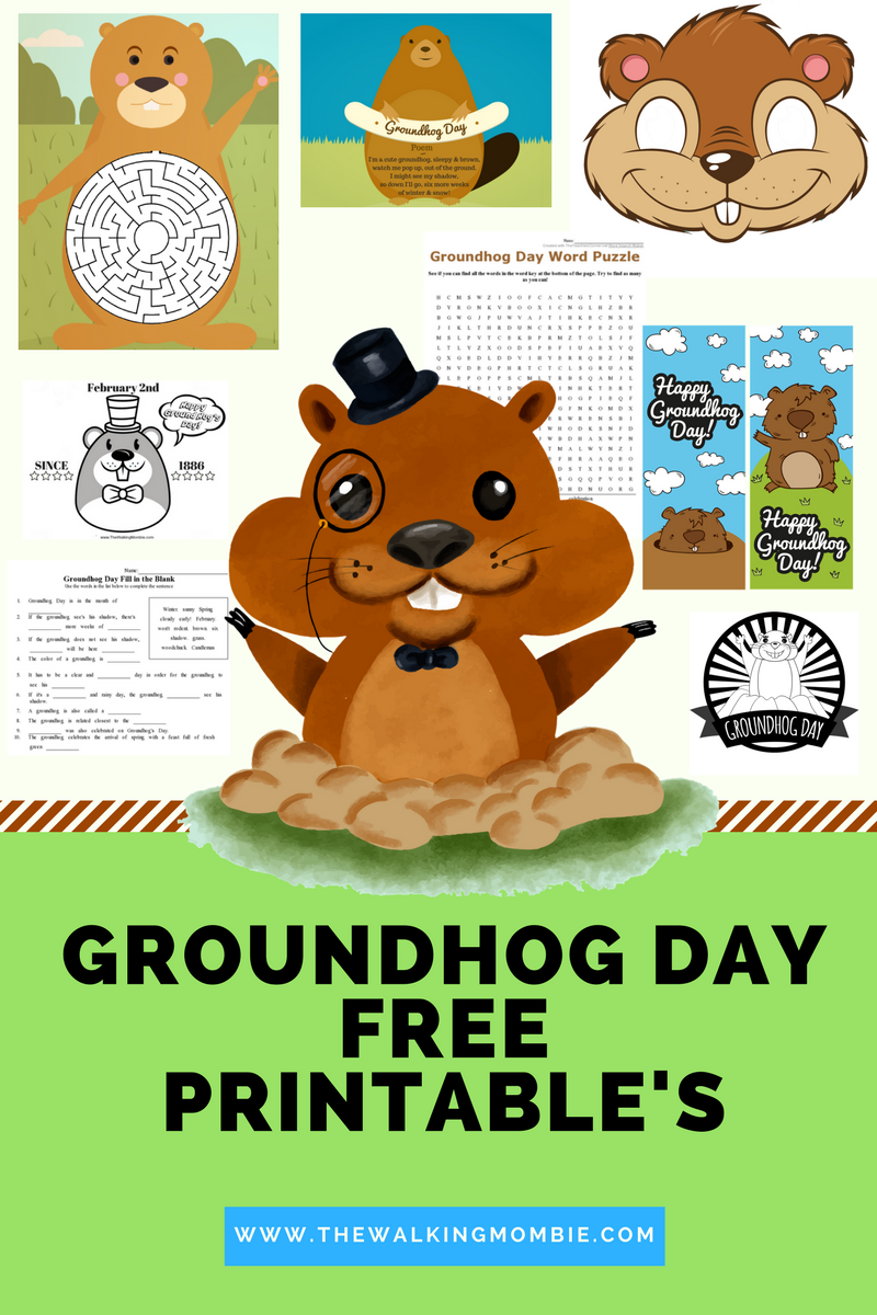 Fun Groundhog Day Activities and FREE Printable\'s for Kids! | The ...