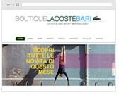 Boutique Lacoste Bari