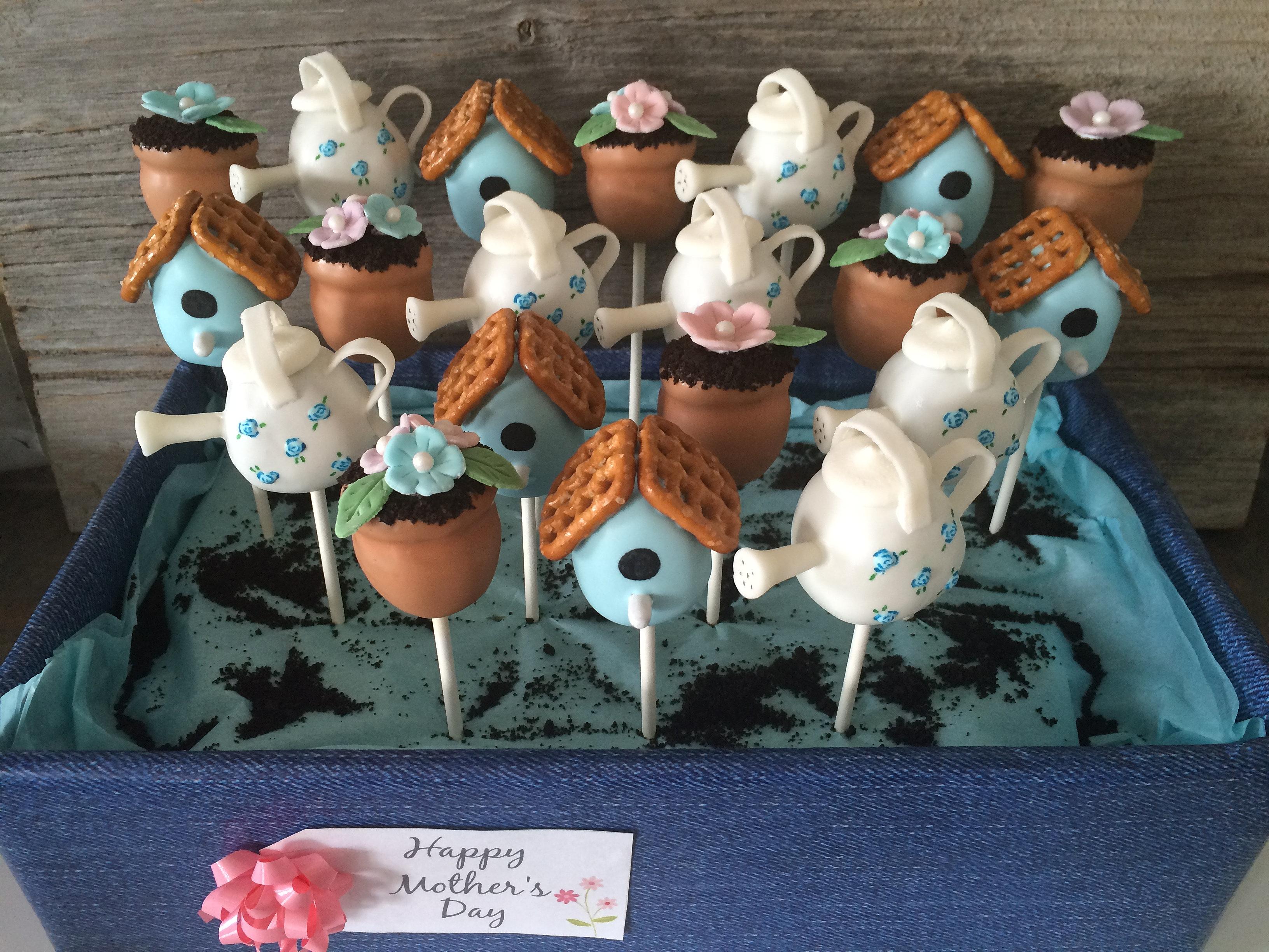 Little Miss Cake Pops Garden pops