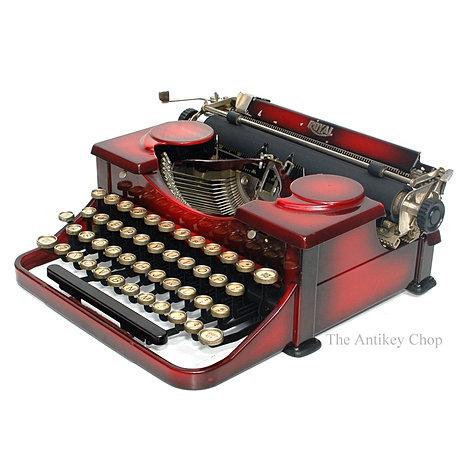 Royal No.2 Portable (Duo Tone Red)