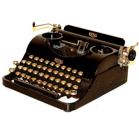 Royal Junior Portable Typewriter