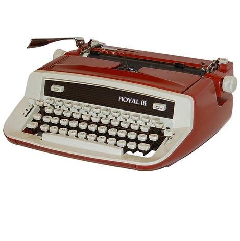 Royal Custom II Portable Typewriter