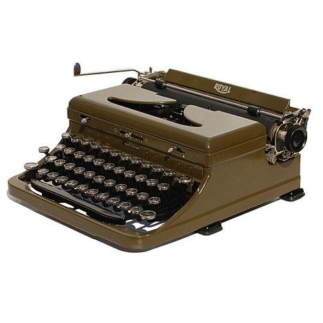 Royal Model O Portable Typewriter