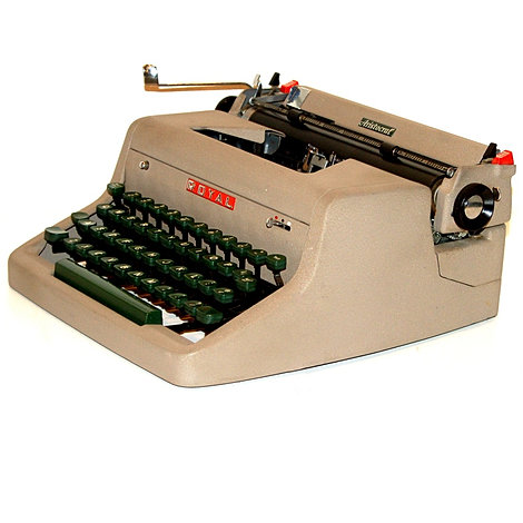 Royal Aristocrat Portable Typewriter