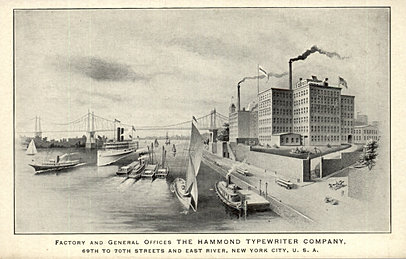 Hammond Typewriter Factory