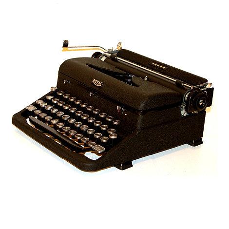 Royal Arrow Portable Typewriter