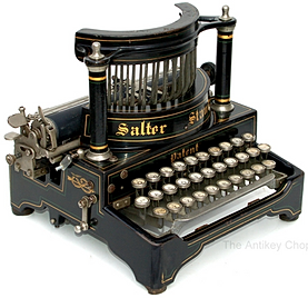 Salter Standard No.6 Typewriter from AntikeyChop.com