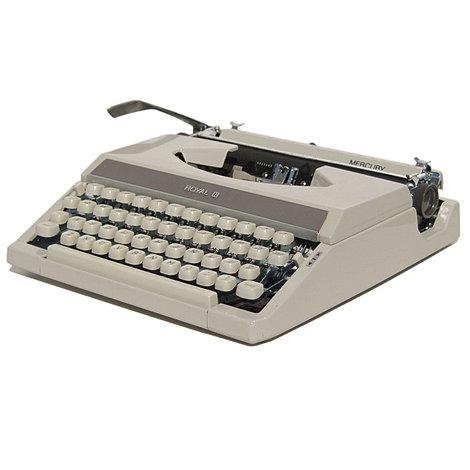 Royal Mercury Portable Typewriter