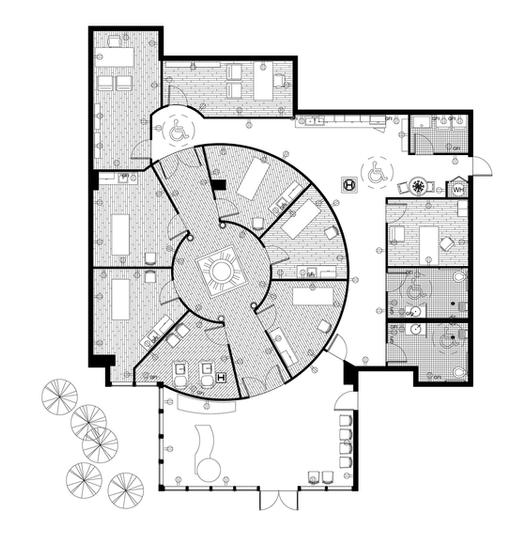 Design created by hchamanda based on landscape for Salon floor plan maker