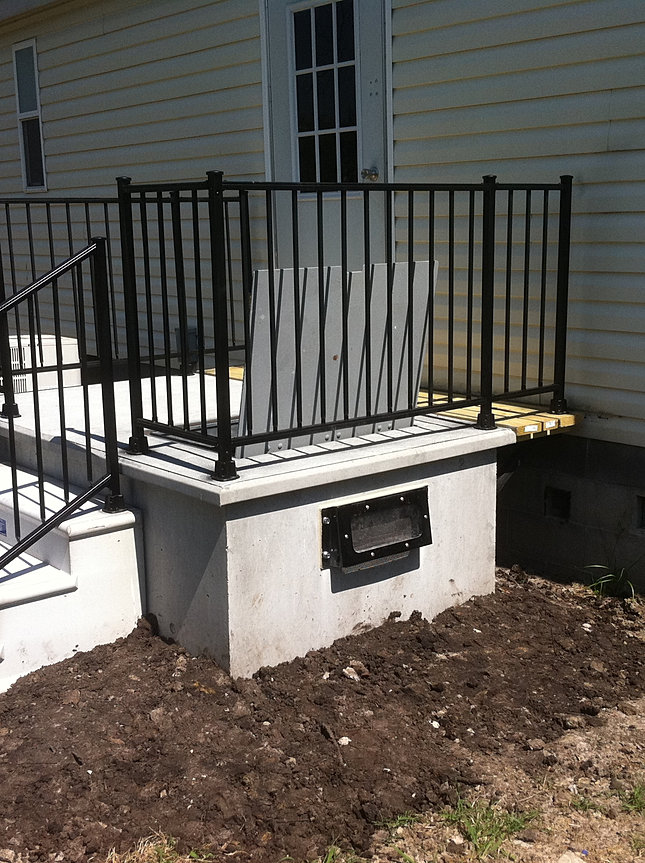 Gallery for Porch storm shelter