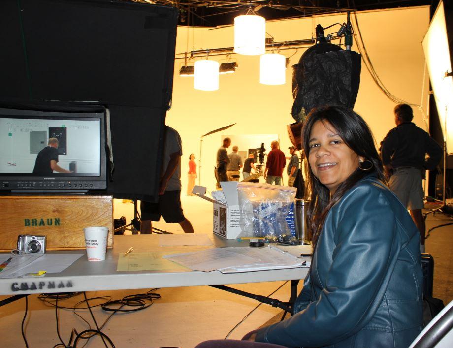 Script Supervisor Sara Alvarez