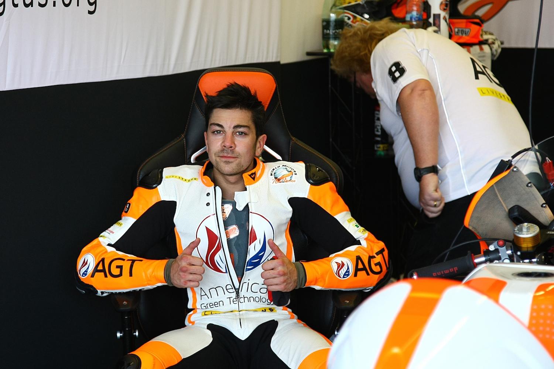 Gino Rea IRTA Jerez Test 2014