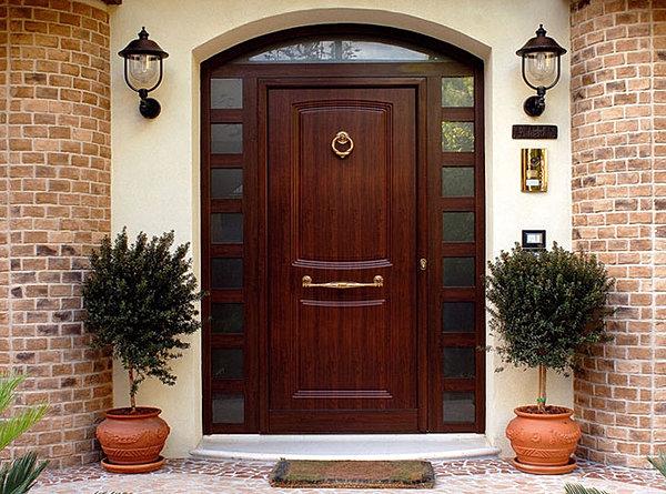 лучший дизайн входных дверей