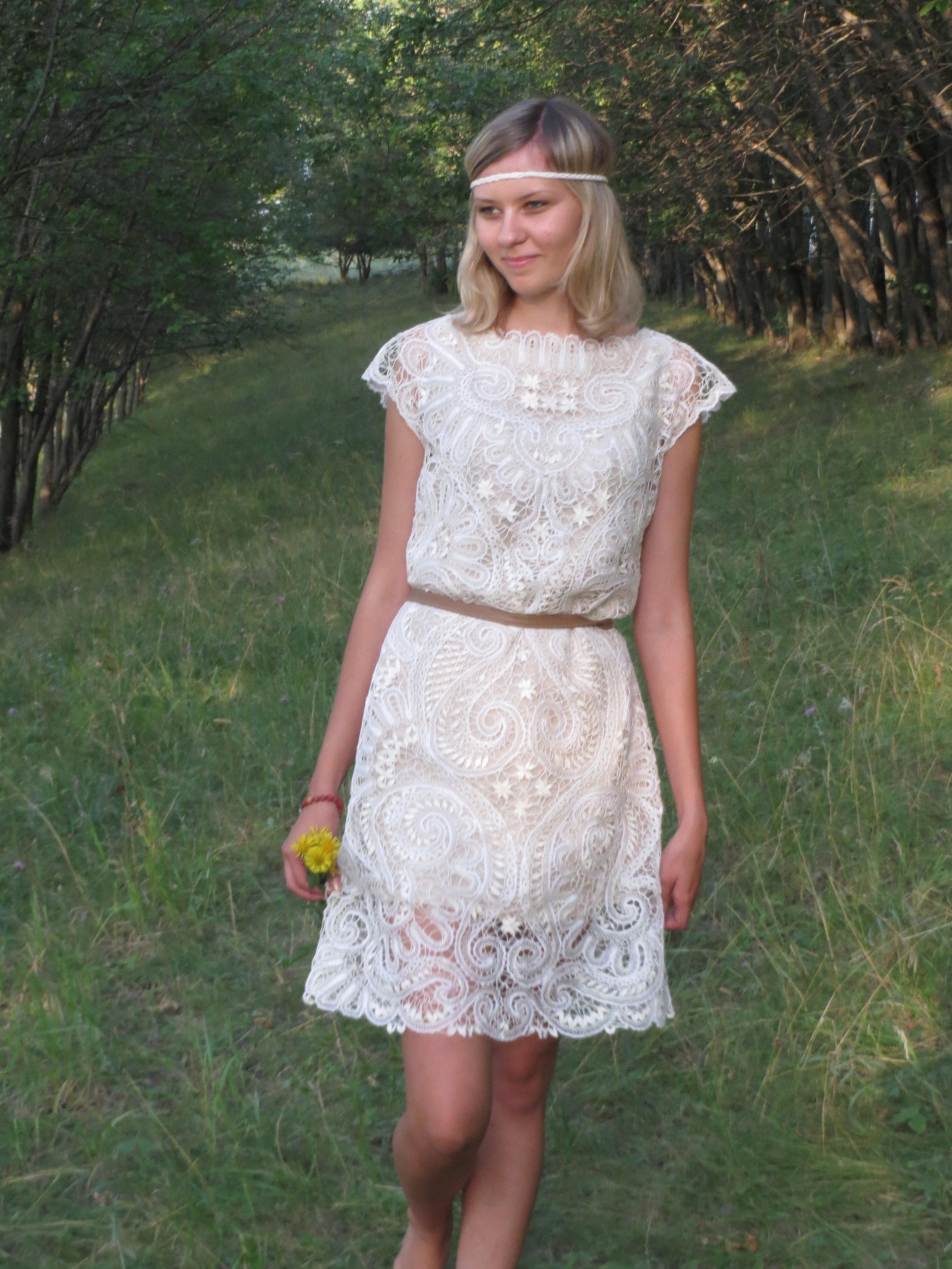Кружево для края платья