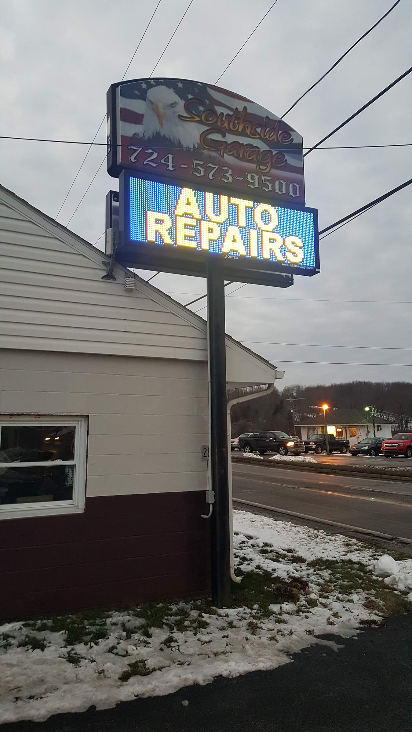 Pittsburgh Led Lighted Signs Company Smart Signs
