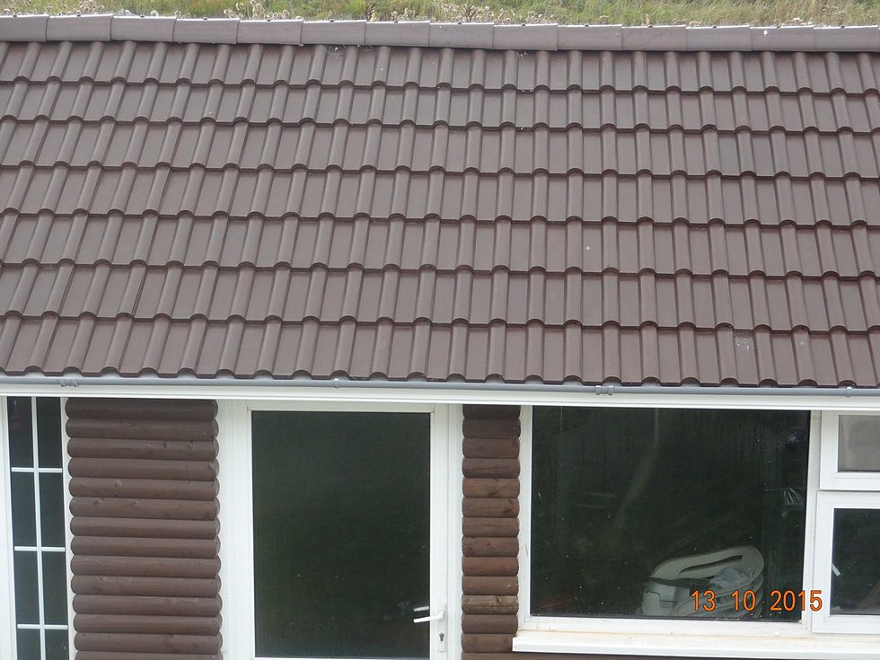 Polymer building suppliers plastic roof tiles irish supplier for Polymer roofing
