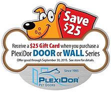Discount on Plex I doors| Dog Door| Pet Door| Coppell TX