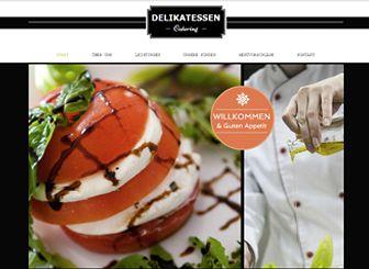 Catering Co Template - Präsentieren Sie Ihr Catering-Unternehmen und Ihre kulinarischen Spezialitäten mit dieser Homepage-Vorlage. Perfekt um köstliche Gerichte darzustellen. Einfach Texte, Speisekarte, Fotogalerien hinzufügen und heute noch online stellen!