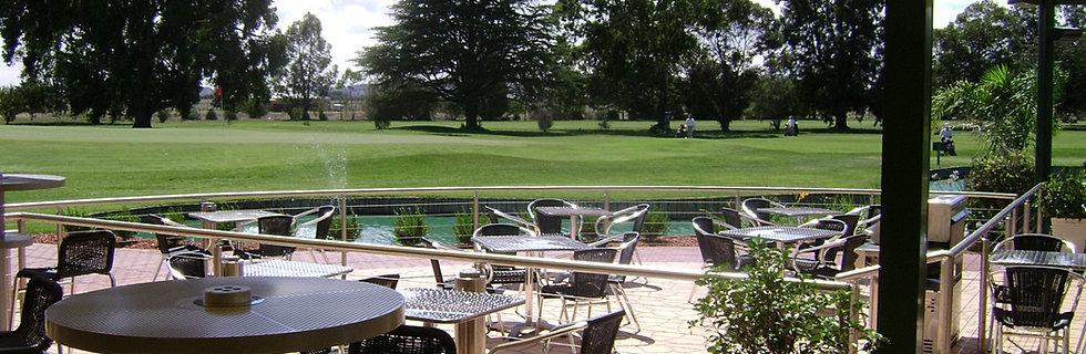 Howlong Golf Club Deck