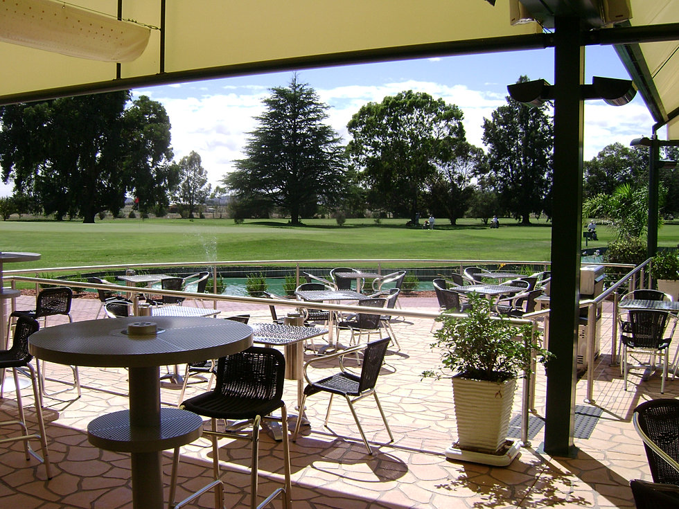 Howlong Golf Club Deck