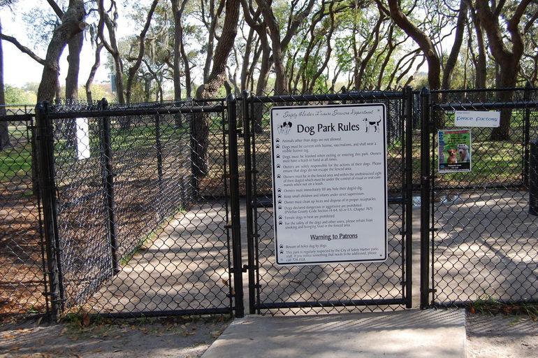 dog park gate