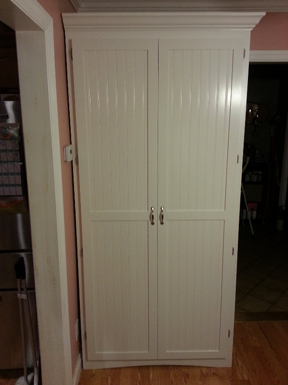 Pantry Cabinet: Pantry Cabinet Hardware with CT woodwork Custom ...
