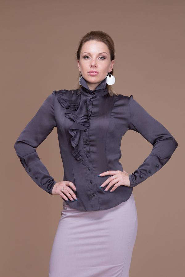 Блузка С Жабо В Самаре