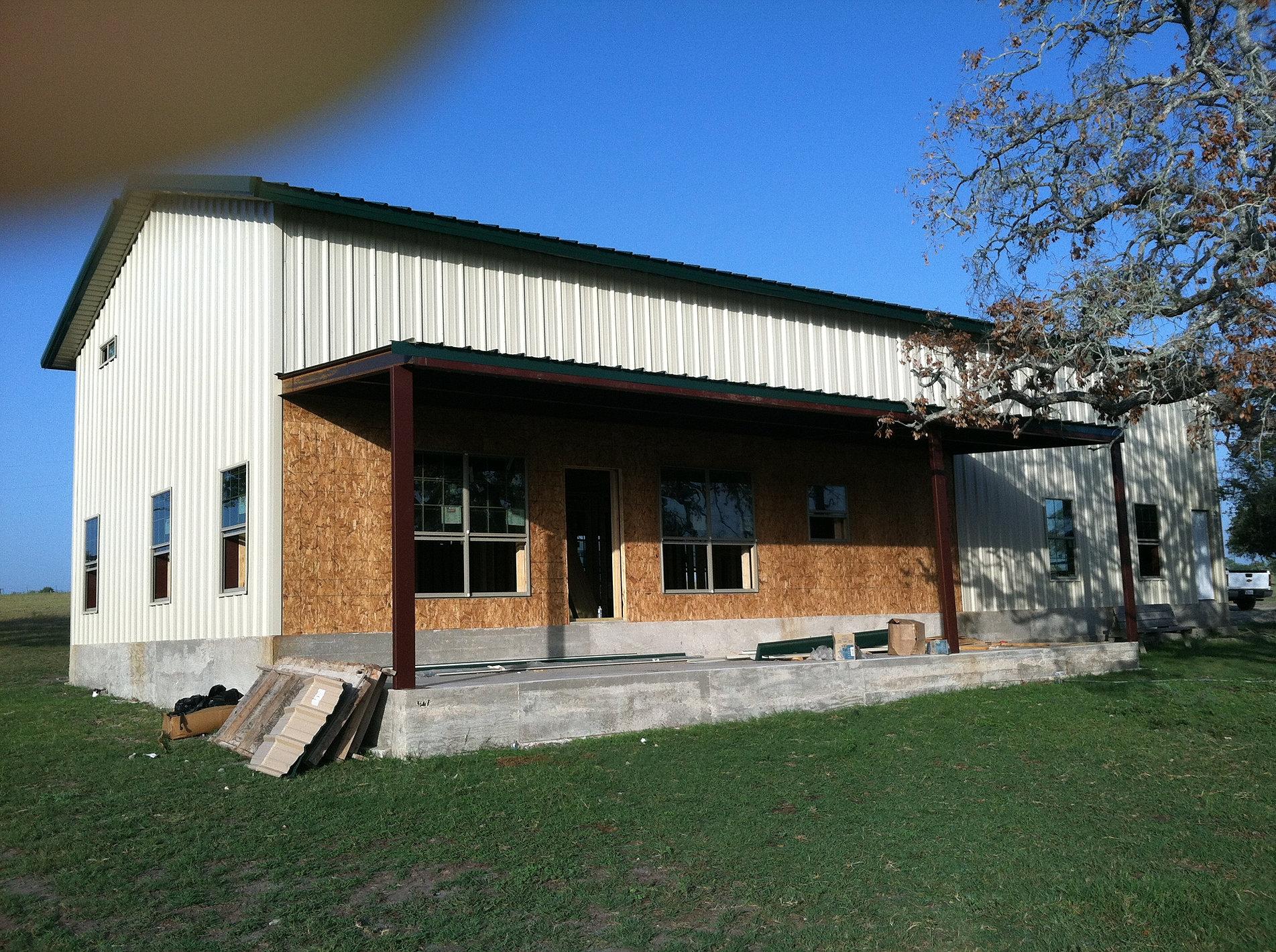 Barndominium builders in houston joy studio design for Texas house builders