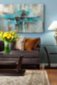 Pale Blue Living room interior design, Interior designers in Atlanta