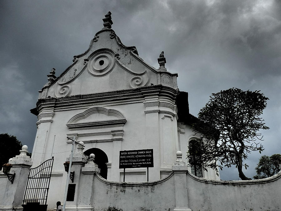 Dutch Reformed Church - Windswept Galle