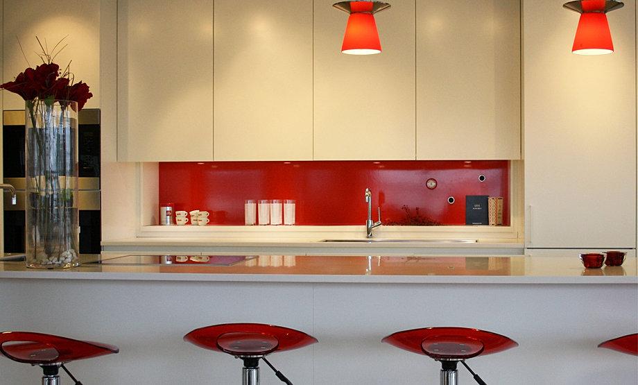 Kok Barnrum : stonkskydd kok glas  Inspireras av emalj i kok och barnrum