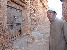 Le gardien devant la seconde porte