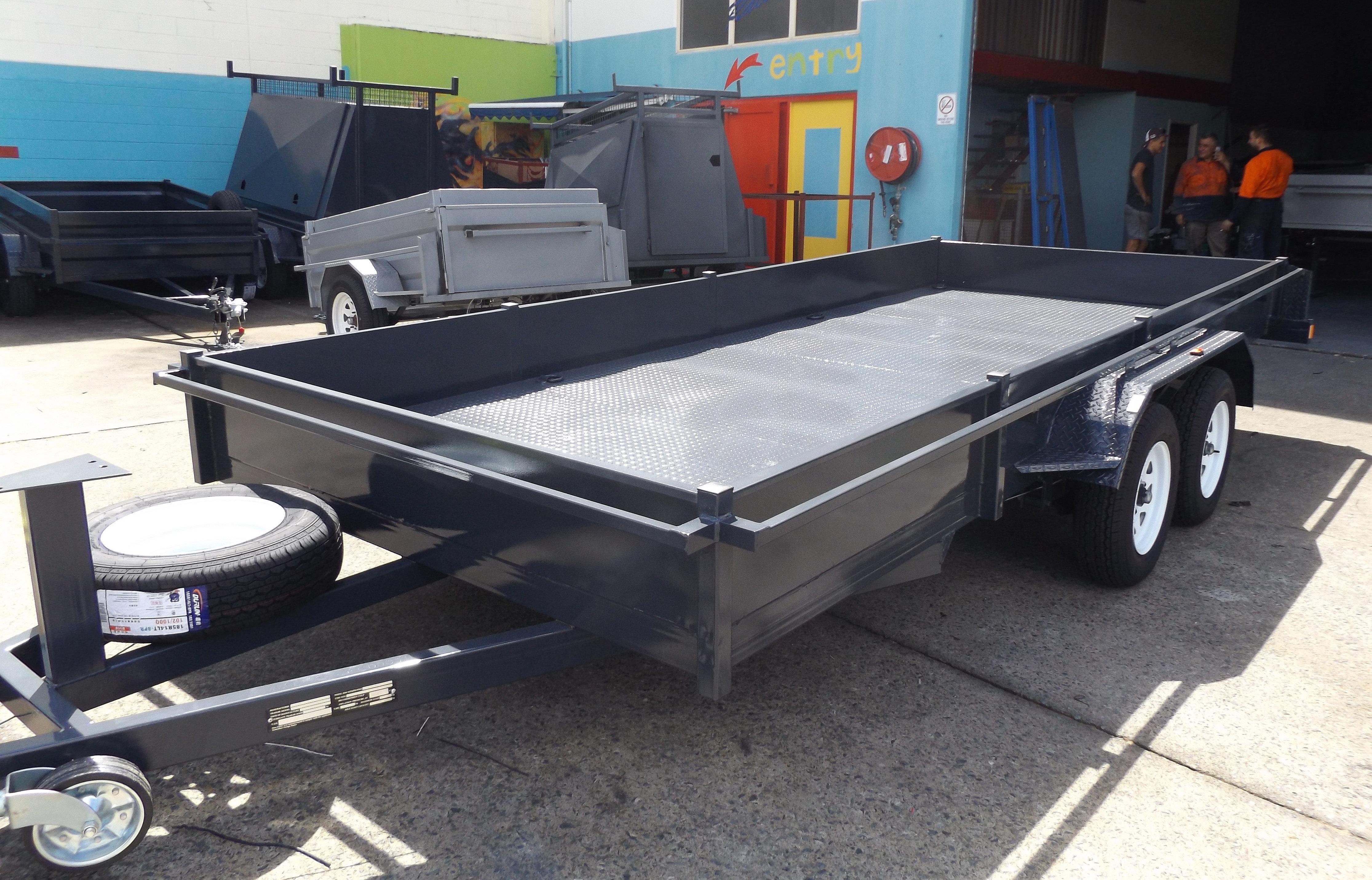 Car trailers for sale gold coast custom multi purpose for 4 box auto in tandem